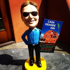The Bobblehead Boss at Casa Grande Inn