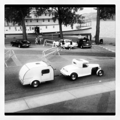 Patio View of Cruisers